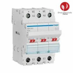 Double Pole Mcb Changeover Switch