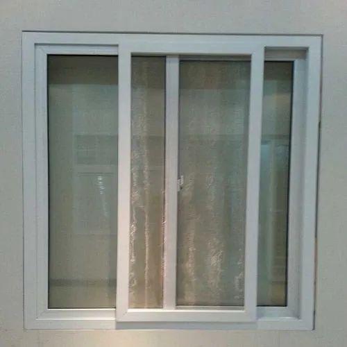 UPVC Mosquito Net Sliding Window