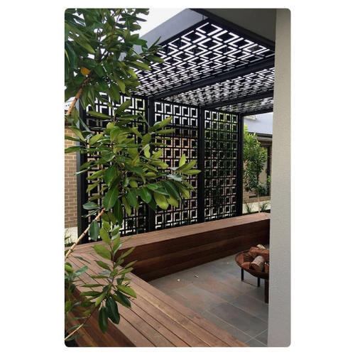 Best Exterior Design App: Exterior PVC Jali, Size: 8 X 4 Feet (Approx), Rs 2500