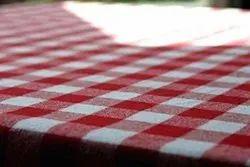 Cotton Check Cover Tablecloth