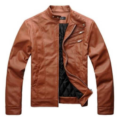 737114142fb Men And Women PU Leather Jacket - Iqbal Leathers Private Limited ...