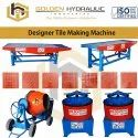 Designer Tile Making Machine
