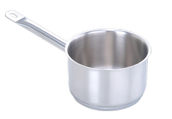 Stainless Steel Pradeep Sauce pan 5 Litres, For Kitchen