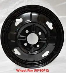 N.K. Industry Black E Rickshaw Wheel Rim