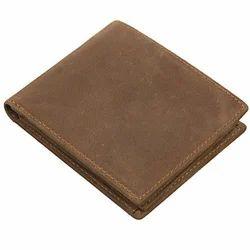 Brown DKJ Mens Leather Wallet