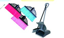 Lobby Dustpan With Brush Set