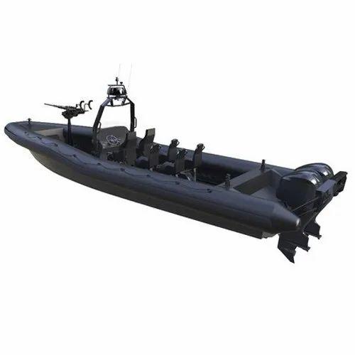 04284871cc6 Diesel Vinyl PVC Inflatable Boat, Rs 800000 /unit, Sky Star Fibre ...