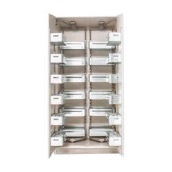 Arihant Rectangular Aluminium Pull Out Kitchen Pantry