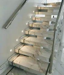 Straight Run Modular Staircase