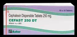 Cephalexin 250mg DT( Cefast - 250 DT) Tablet