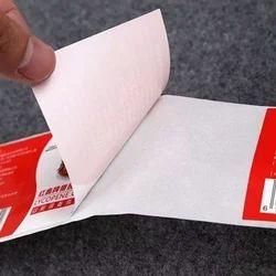 Vinyl Adhesive Sticker