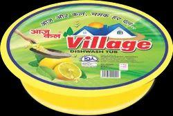 Village Dish Wash Tub, For Bartan Bar, Packaging Size: 1 Kg