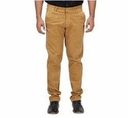 Inspire Slim Corduroy Trouser (Dark Khaki)