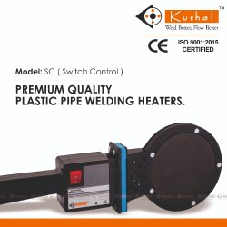SC 110 Simple HDPE Pipe Jointing Welding Heater Mirror Ghar Ghar Nal Jal yojana Bihar