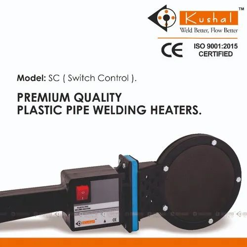 HDPE PIPE JOINTING HEATER SC - SC 160 Simple HDPE Pipe Jointing