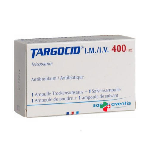Targocid Injection, Packaging Type: Box