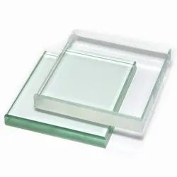 Transparent Toughened Glass, Shape: Flat, Thickness: 12.0 mm