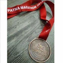 1021 Brass Marathon Medal