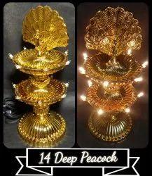 Deepmala- 2 layers14 deep LED lights