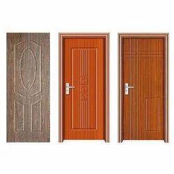 Polished Brown Hinged Sintex PVC Door, Exterior