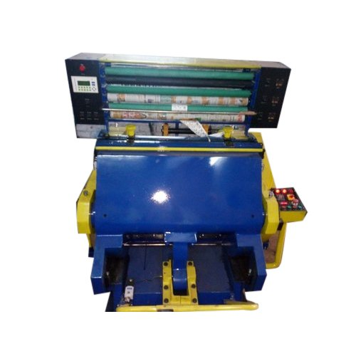 Automatic Jasleen Engineers Hot Foil Stamping Machine