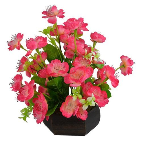artificial flowers with pot japanese flowers at rs 220 piece