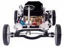 Single Cylinder Engine - Car Model - Aluminum Alloy