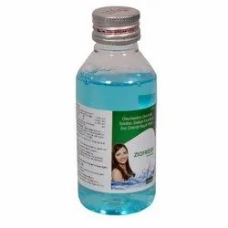 Chlorhexidine Gluconate Solution, Sodium Fluoride And Zinc Chloride Mouth Wash