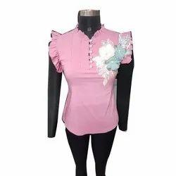 Toko Sleeveless Ladies Designer tops, Size: 24 - 45, Packaging Type: Packet