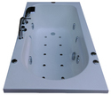 Alexander Bathtub (6' x 3.25') with Jacuzzi Massage, Bubble