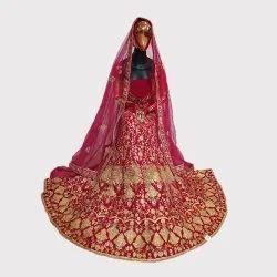 Rani Bridal Velvet Lehenga