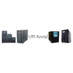 UPS Rental Service for Industrial, Capacity: 2 to 200 KVA