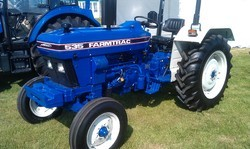Below 20 hp and 21-30 hp Blue and Black Farmtrac Tractor