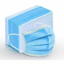 PP Non Woven Ear loop Surgical Face Mask, Number of Layers: 3 Ply