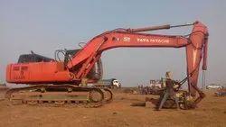 Excavators Ex-210 Hitachi Poclain Rental and Hiring Services