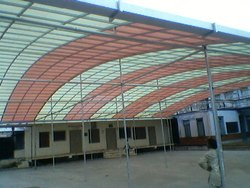 Industrial Polycarbonate Shed