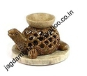 Carved Soapstone Oil Burner