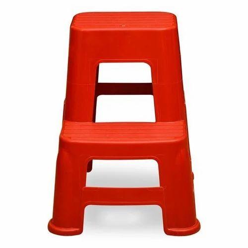 Enjoyable Plastic Step Stool Nilkamal Red Plastic Step Stool Uwap Interior Chair Design Uwaporg
