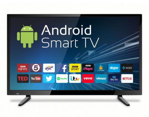 Black Smart Led Tv Imported 32 Inch Screen Size 32 Inch Rs 14999