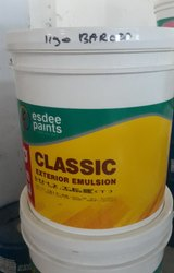 Esdee Paints Exterior Emulsion, Packaging Size: 10ltr, Packaging Type: Bucket