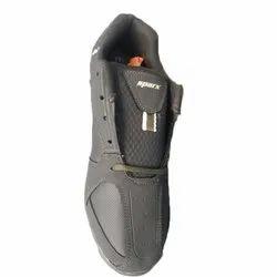 Casual Wear Mens Black Sparx Shoes, Size: 6-10
