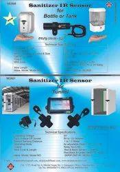 IR Sensor-Hand-Tunnel Sanitizer & Detector