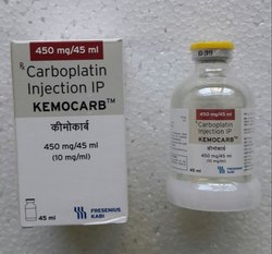 Kemocarb 450 mg (Carboplatin Injection)