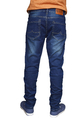Mens Solid Blue Stylish Jeans
