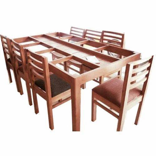2da6da931d9 Brown 8 Seater Dining Table Set