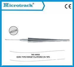 Vitreoretinal End Gripping Forceps (SS)