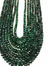 Emrald Facetate Beads