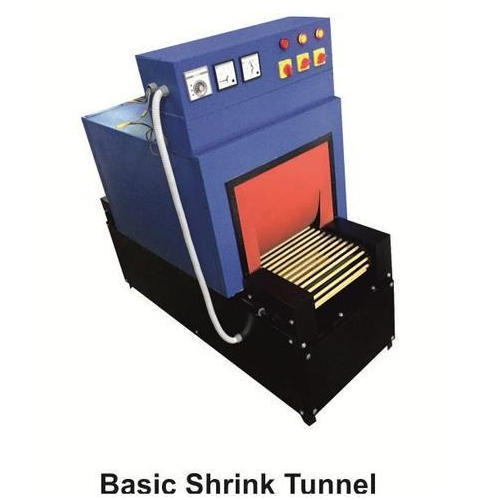 Semi-automatic Three Phase Shrink Tunnels Machine