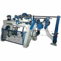 Semi-Automatic Barbed Wire Making Machine