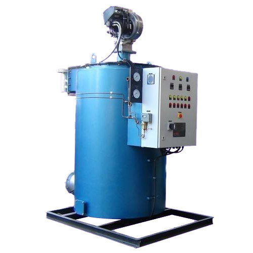 Automatic Mild Steel Gas Hot Water Boiler, Capacity: 0-500 L/hr, Rs ...